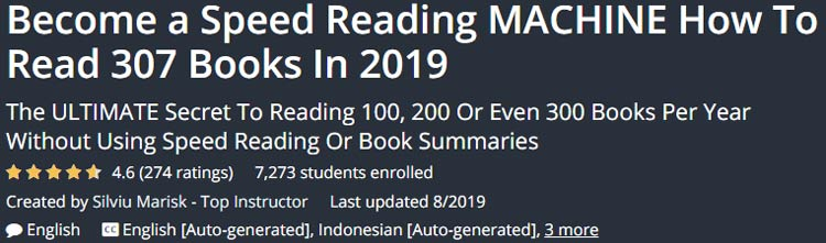 Become a Speed ​​Reading Machine