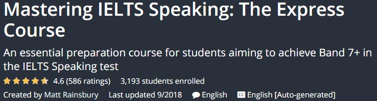 Mastering IELTS Speaking The Express Course