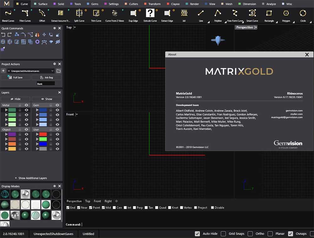 MatrixGold screenshot