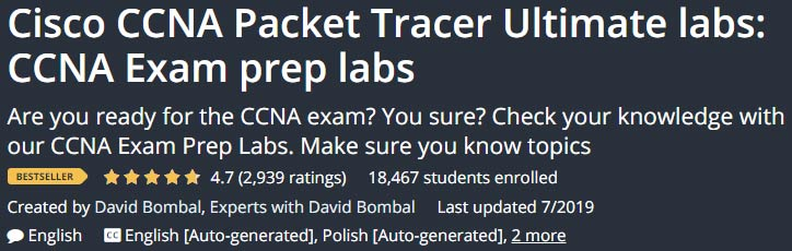 Cisco CCNA Packet Tracer Ultimate labs