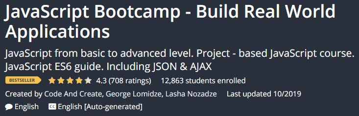 JavaScript Bootcamp Build Real World Applications