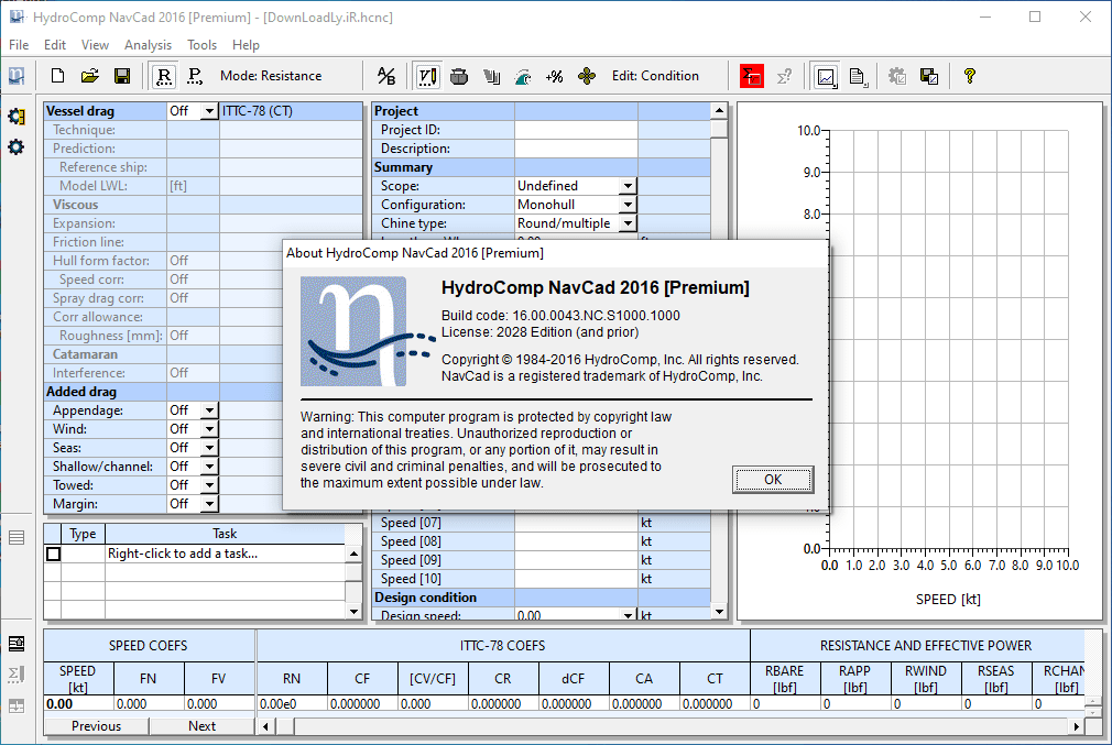 NavCad screenshot