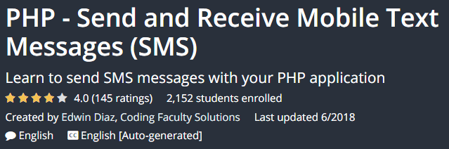 PHP - Send and Receive Mobile Text Messages (SMS)