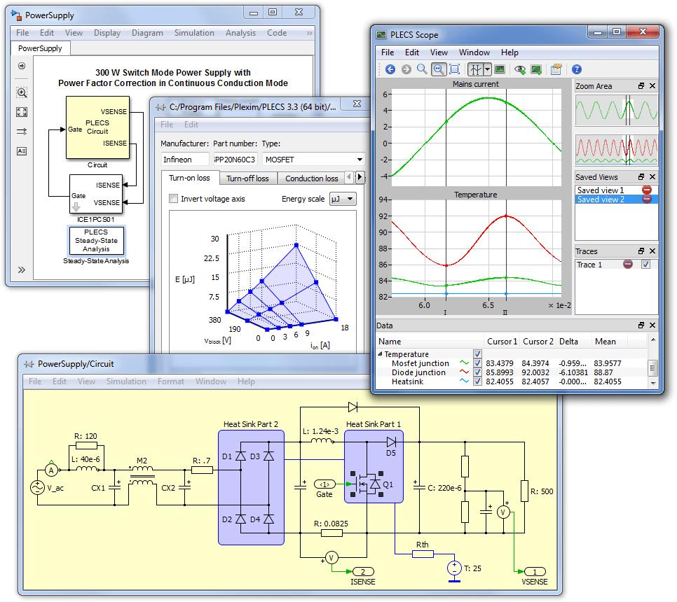PLECS screenshot
