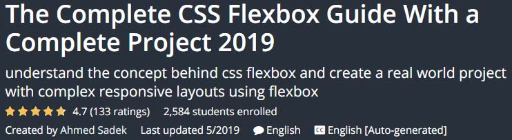 The Complete CSS Flexbox Guide
