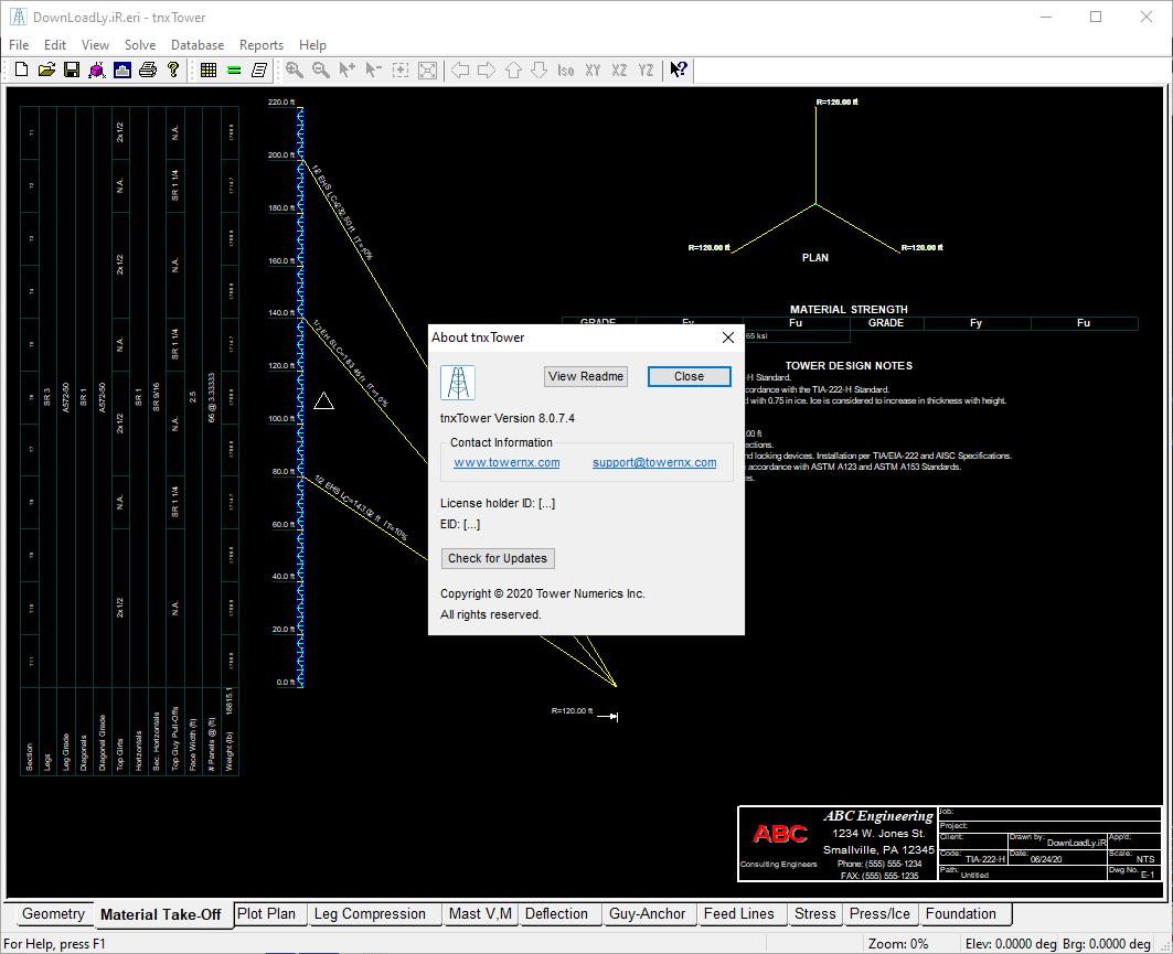 tnxTower screenshot