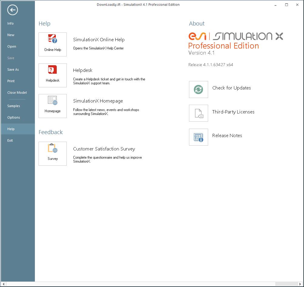 SimulationX screenshot