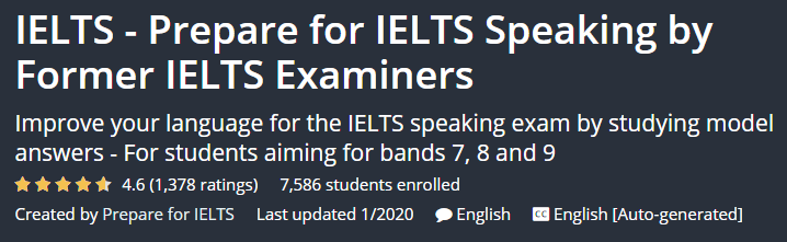 IELTS - Prepare for IELTS Speaking by Former IELTS Examiners