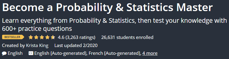 Become a Probability & Statistics Master