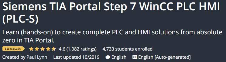 Siemens TIA Portal Step 7 WinCC PLC HMI