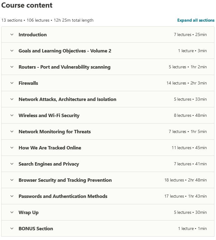 الدورة التدريبية الكاملة حول الأمن السيبراني: أمن الشبكات!
