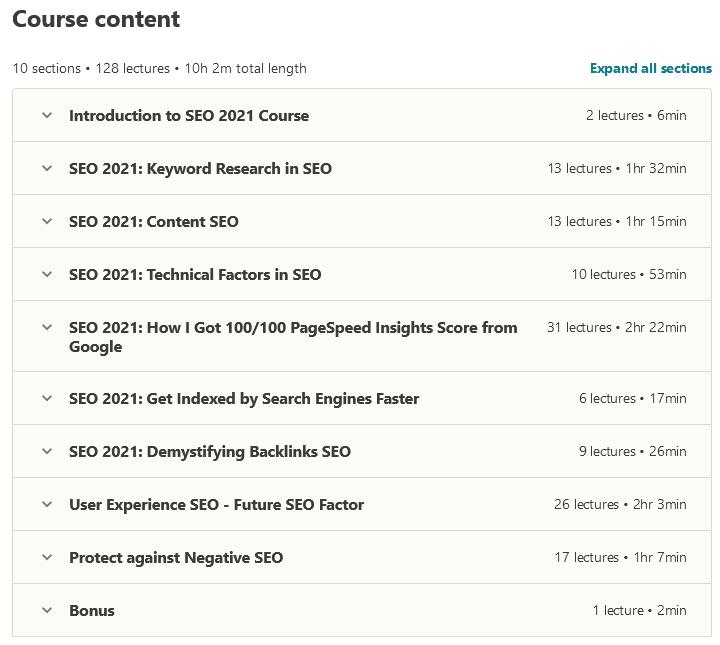 SEO 2021: Complete SEO Training + SEO for WordPress Websites