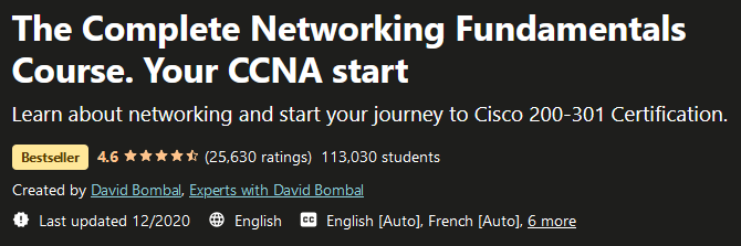 The Complete Networking Fundamentals Course. Your CCNA start