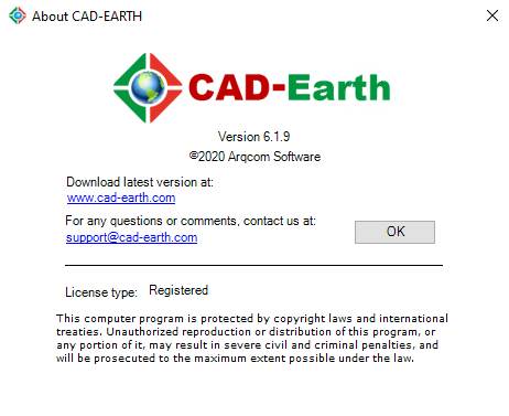 Arqcom CAD-Earth