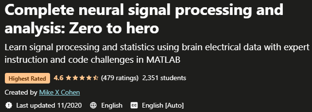 Complete neural signal processing and analysis Zero to hero