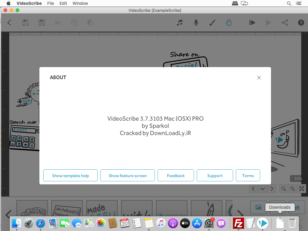 Videoscribe macOS