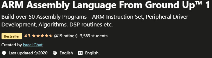 ARM Assembly Language From the Ground Up 1