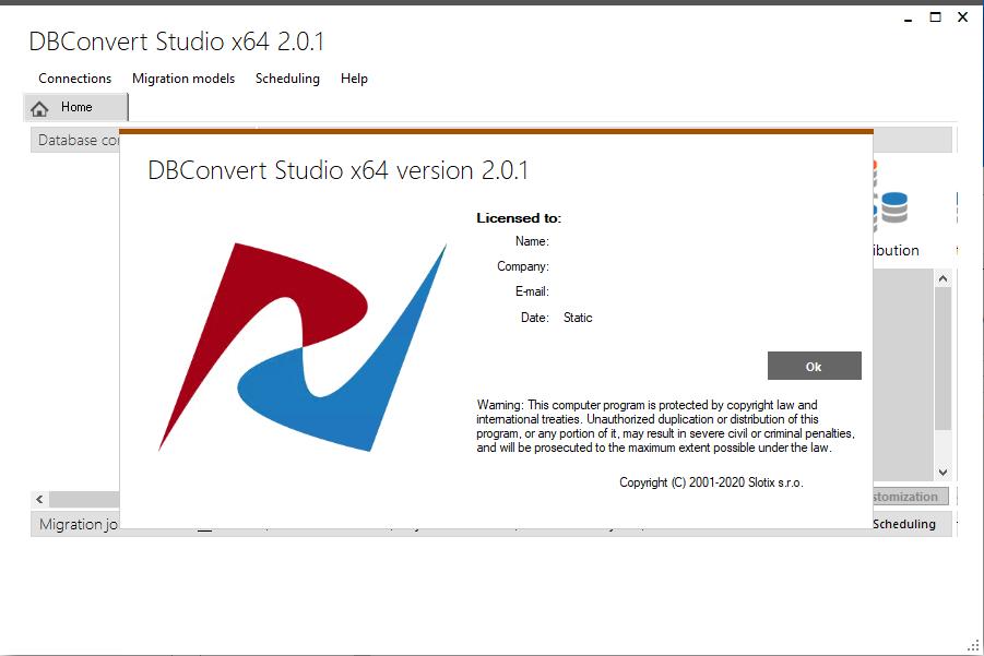 DBConvert Studio