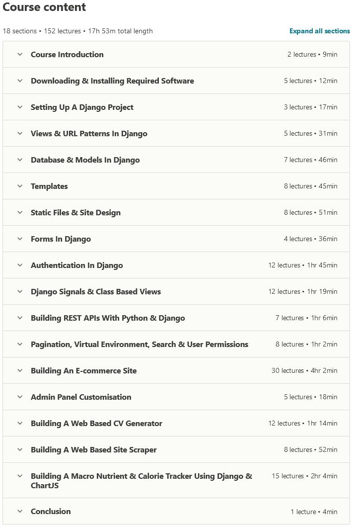 Django Masterclass : Build Web Apps With Python & Django