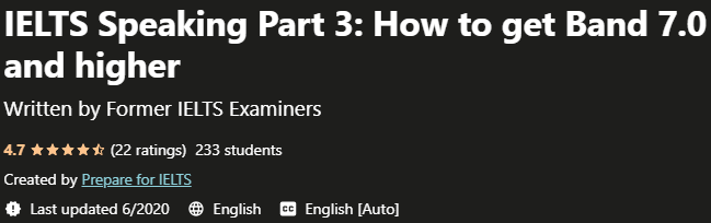 IELTS Speaking Part 3 How to get Band 7 0 and higher