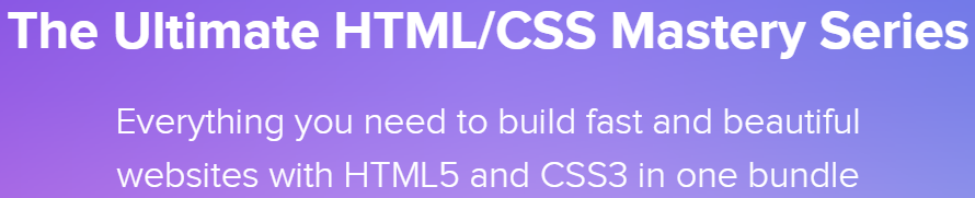 The Ultimate HTML CSS Mastery Series