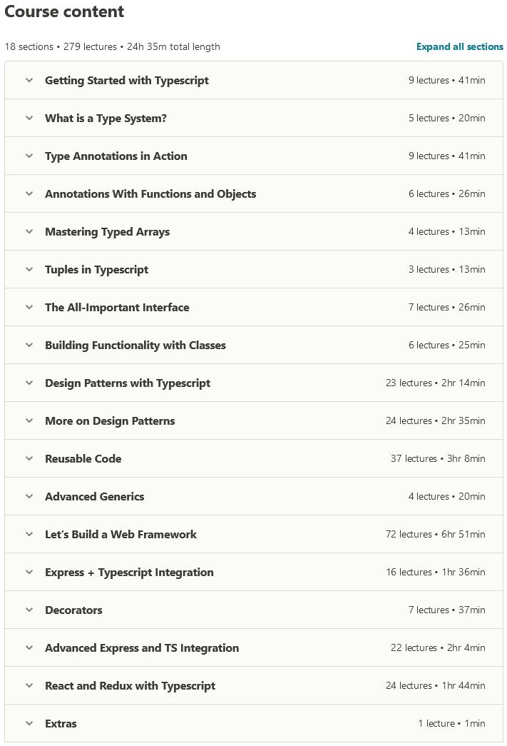 Typescript: The Complete Developer's Guide [2020]