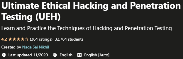 Ultimate Ethical Hacking and Penetration Testing (UEH)