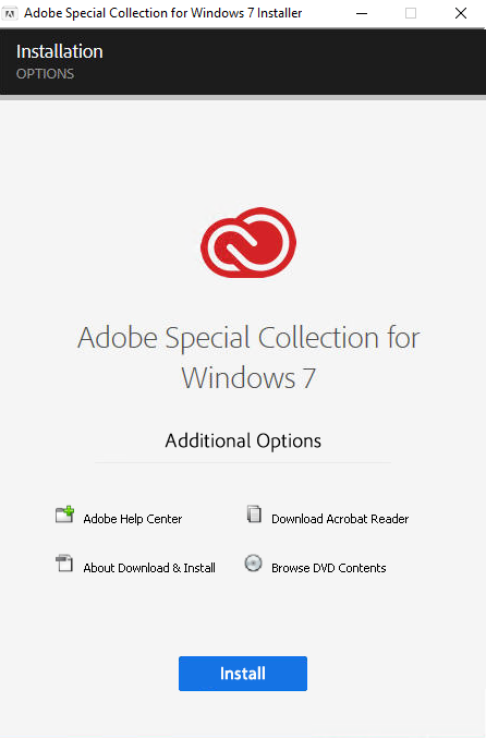 Adobe Master Collection Win 7