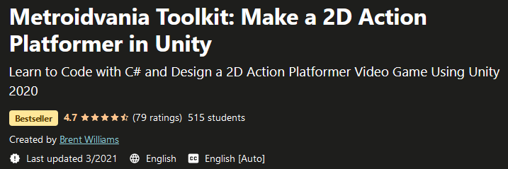 Metroidvania Toolkit: Make a 2D Action Platformer in Unity