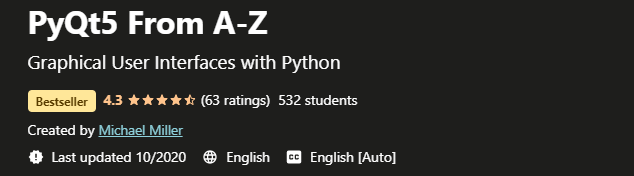 PyQt5 From A-Z