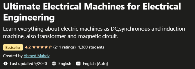 Ultimate Electrical Machines for Electrical Engineering
