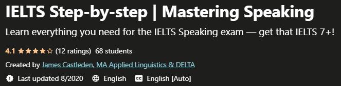 IELTS Step-by-step Mastering Speaking