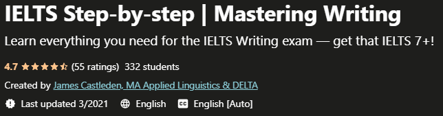 IELTS Step-by-step Mastering Writing