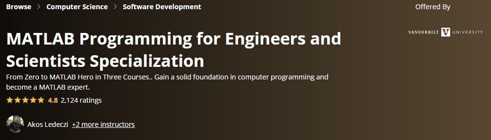 MATLAB Programming for Engineers and Scientists